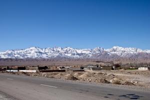 Kerman entre las montañas y el desierto